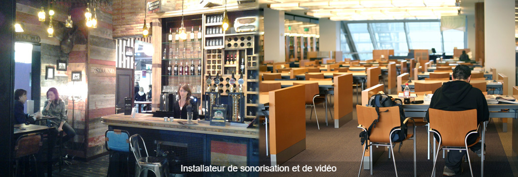 son et video installateur